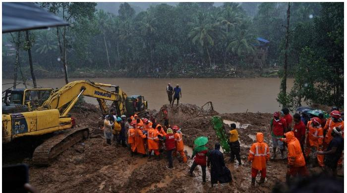 Floods in South India leave over 20 people dead