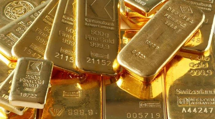 Gold price jumps Rs2,500 per tola in Pakistan