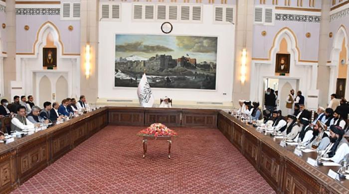 FM Qureshi assures interim Afghan PM of Pakistan's humanitarian assistance