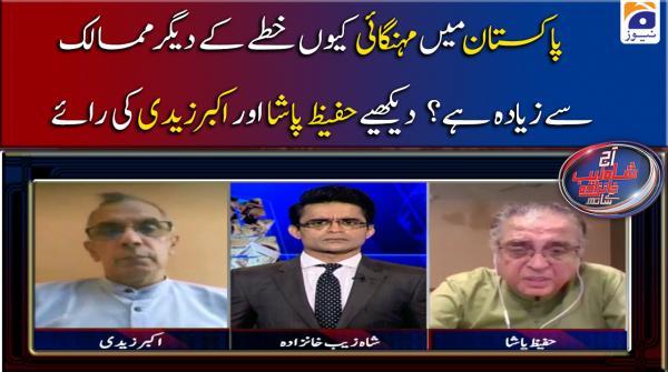 Pakistan Main Mehangai Kyun Khitte ke Deegar Mumalik se Ziyada Hai, Dekhiye Hafeez Pasha Aur Akbar Zaidi ki Rai....!