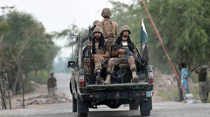 Security forces gun down terrorist in North Waziristan operation