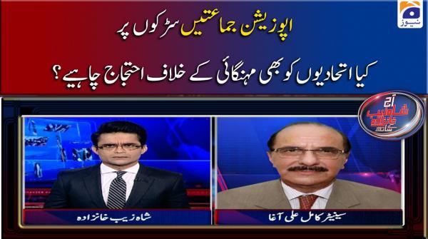 Opposition Parties Sarkon Par, Kia Hukumati Ittehadion ko Bhi Mehangai ke Khilaf Ahtijaj Karna Chahiye..??