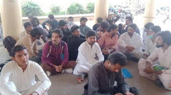 'Reverse the fee hike': Postgraduate students on hunger strike at Sindh University