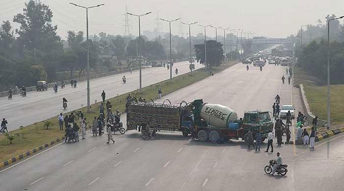 Protests: ITP issues traffic alert, public transport partially suspended in Lahore