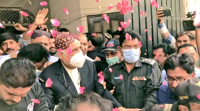 PPP's Khursheed Shah released from jail after 25 months