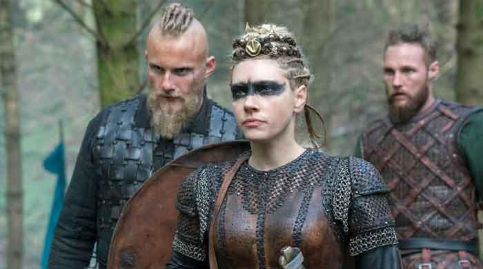'Vikings' Lagertha actress reacts to death of Halyna Hutchins