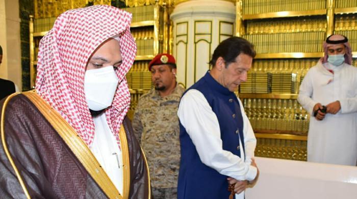 PM Imran Khan arrives in Saudi Arabia on three-day visit