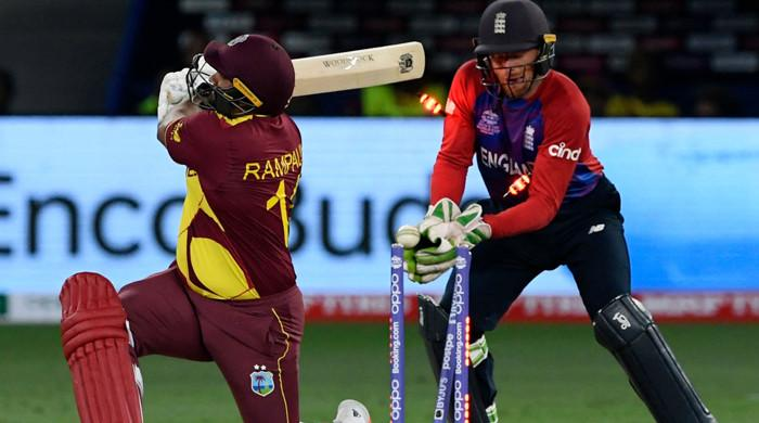 West Indies go down for lowest T20 World Cup total in team's history
