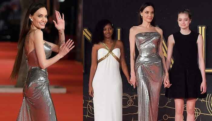 Angelina Jolie turns heads as she graces 16th Rome Film Festival premiere of Eternals - Geo News
