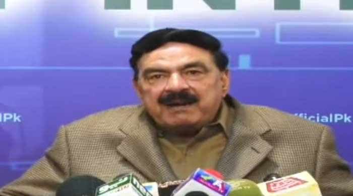 Banned organisation's protest: Govt does not want confrontation, says Sheikh Rasheed