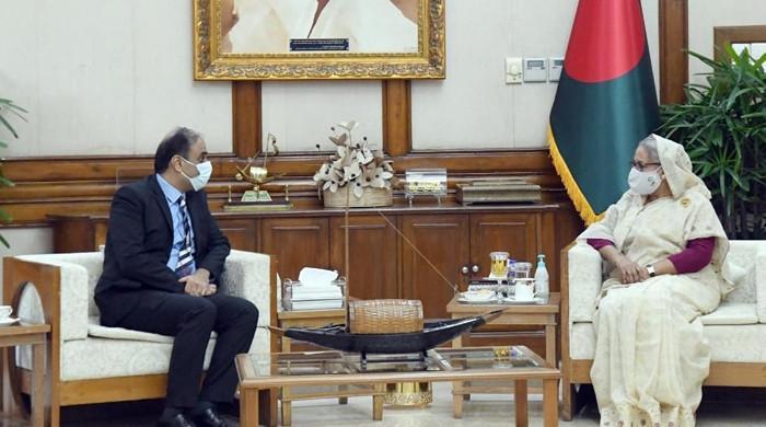 Pakistan, Bangladesh agree to strengthen ties, as ambassador conveys PM's goodwill message to Hasina