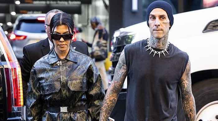 Travis Barker gets new tattoo of Kourtney Kardashian's lips to cover up ex's name