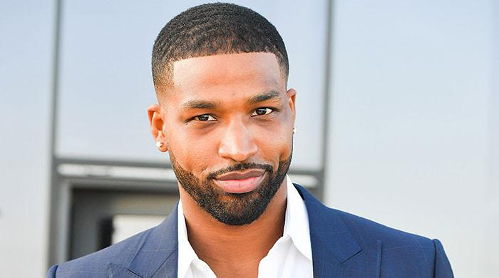 Tristan Thompson shares sweet snap of True, Prince