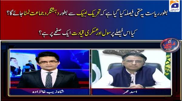 TLP se Bator Dehshatgard Tanzeem Nimta Jaiga, Kia Is Faisle Par Civil Aur Askari Qayadat Aik Page Par Hain?
